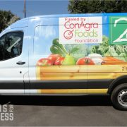 Food Truck Wraps - Food Bank Van Wrap