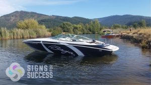 carbon fiber boat wrap, Baja Boat wrap-vinyl wrap-3M wrap