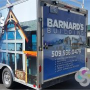 Construction Trailer Wrap