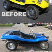71 Manx Dune Buggy color Change Wrap