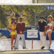 Gilligan's Island Photo Back Drop