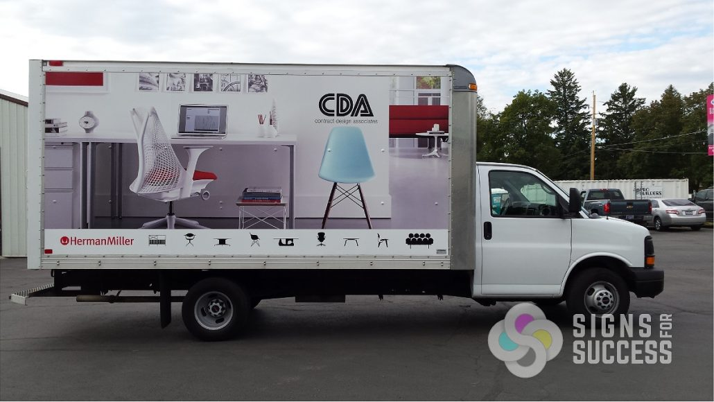 Box Trucks Signs For Success