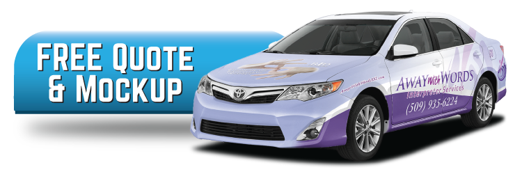 Get a Free Mock Up and Quote for Car Wrap