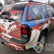 SUV Wrap - Broadcast Media - ESPN