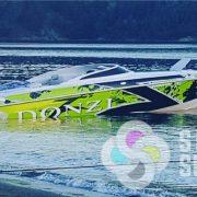Donzi Boat Wrap-vinyl wrap-3M wrap
