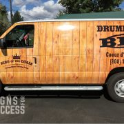 Food Truck Wraps - Catering Truck wraps - spokane