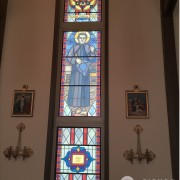 Custom Printed Faux Stained Glass Windows