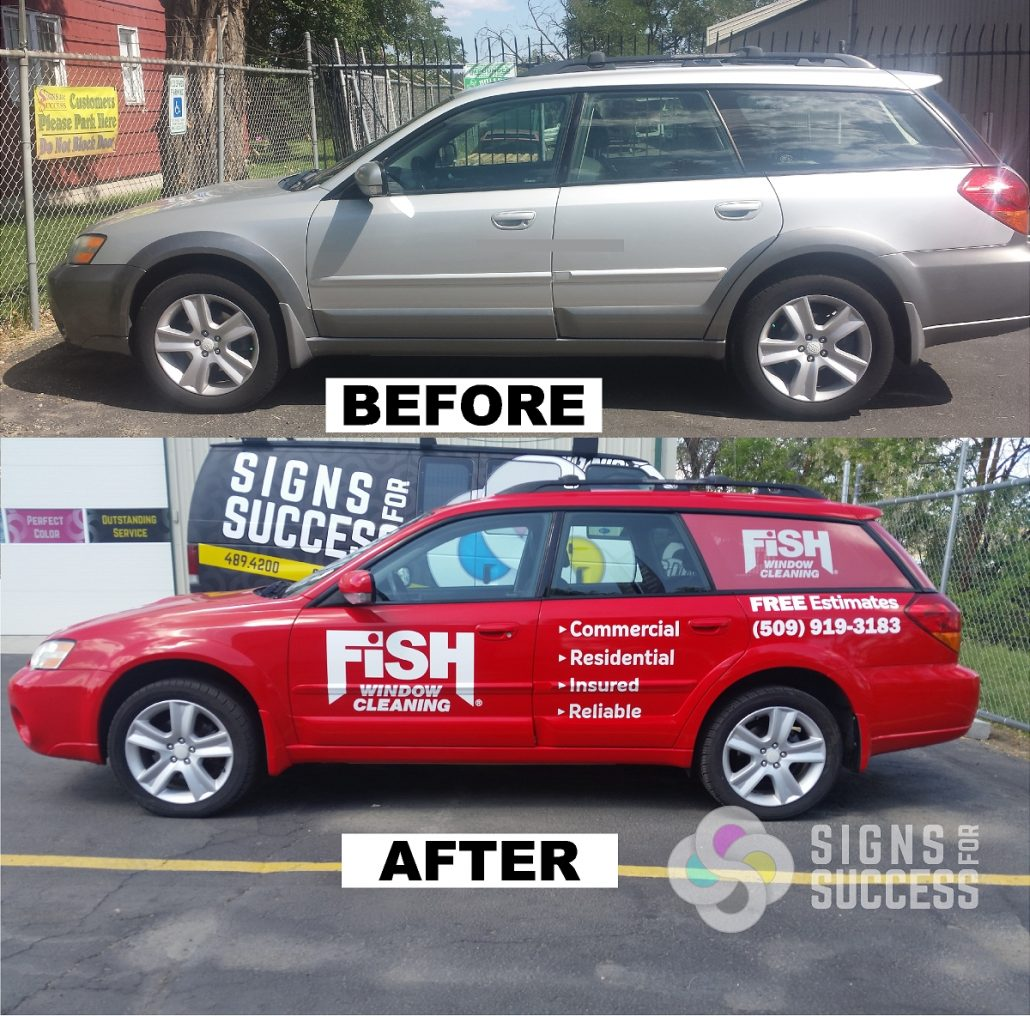 Cars SUVs - Signs for Success