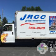 Cube Van Advertising Wrap