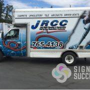 Box Van Vehicle Wrap