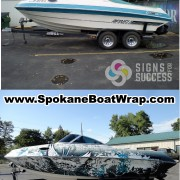 Reinell vinyl wrap makeover Before and After