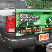 Pickup and truck wraps and graphics