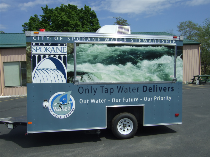 Trailer wraps and graphics