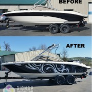 SeaRay Custom Boat Wrap