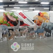 Zoo Animal Standee Cut Outs