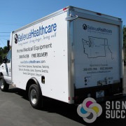 custom graphics, cut vinyl for fleet wrap in Spokane, Coeur d'Alene, and Tri Cities