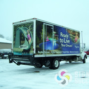 Box Truck 3M vehicle wrap or Avery vinyled graphics in spokane