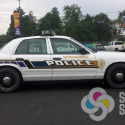 Have Signs for Success design custom graphics for reflective lettering like for Springdale Police fleet