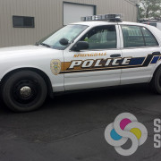 Wrap your police department vehicle like Springdale Police did with custom graphics printed and installed by Signs for Success in Spokane