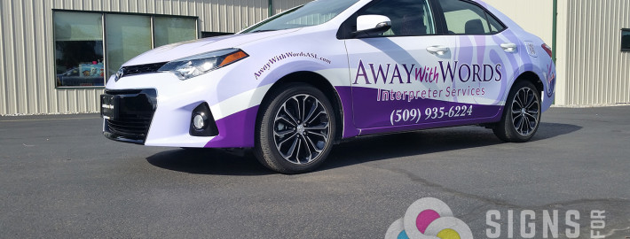 Request A Vehicle Wraps Quote Signs For Success