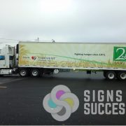 Semi Tractor Trailer Wrap Spokane, semi trailer wraps