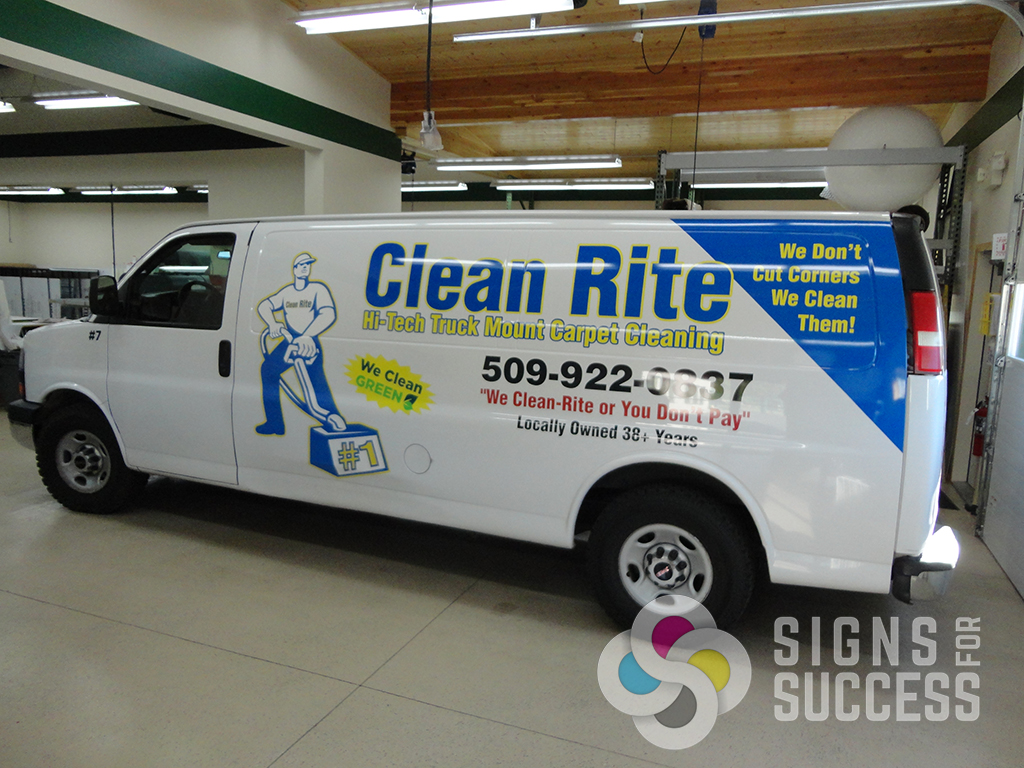 Contractor Fleet Wraps Maximize Advertising Space Signs