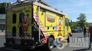 Food Truck wrap van wraps for Little Caesars in Spokane