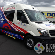 Custom wrap for Beacon Immigration in Spokane and Kennewick