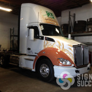 Semi wrap on fenders, hood and fairing in Spokane and Medical Lake, WA