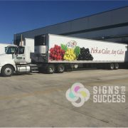Semi Trailer Wrap Spokane