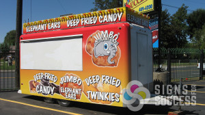 Get into more fairs and events with an attractive, custom Concession Trailer Wraps designed by Signs for Success in Spokane and Colville