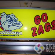 Indoor backlit signs can be refaced as well, in pop coolers and other indoor lighted signs, let Signs for Success help now with fast, great work