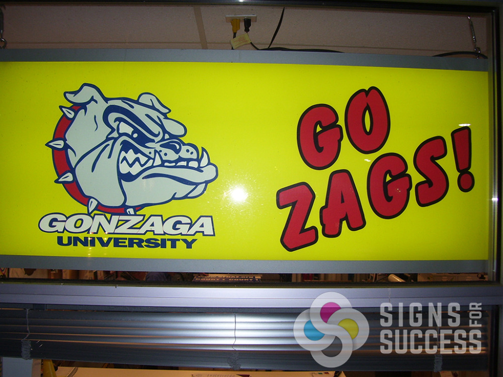 Indoor Backlit Signs For Success