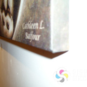 Edge of gallery wrapped canvas, custom prints by Signs for Success, Spokane and Spokane Valley, call now