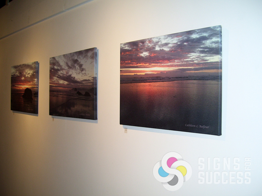 large professional art prints signs for success