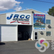Just Right Cleaning & Construction in Moses Lake updated their building signs with these new ACM wall signs by Signs for Success Spokane
