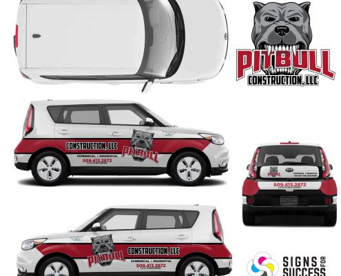 Custom Car wrap Designs