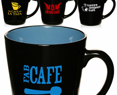 Not just this style, but many styles of ceramic mugs, stainless travel mugs, hot and cold double walled tumblers, and much more from Signs for Success in Spokane, call now for fast service