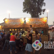 Whether we design your banner or you bring us ready to print files, your food concession banners turn out great at Signs for Success in Spokane, and they are fast now