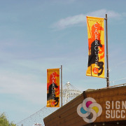 Arena Banners Spokane Advertise To Shock Fans Signs For