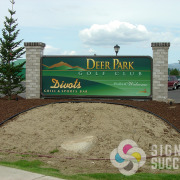 When Signs for Success prints full color for backlit, we love the results during the day as well as at night when lit up, like this one in Deer Park
