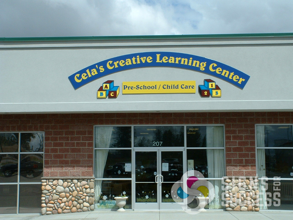 Window Stickers For Cars >> Wall Signs- Exterior - Signs for Success
