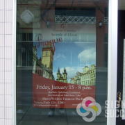 Prague sounds of Cities by Spokane Symphony, large poster printed by Signs for Success