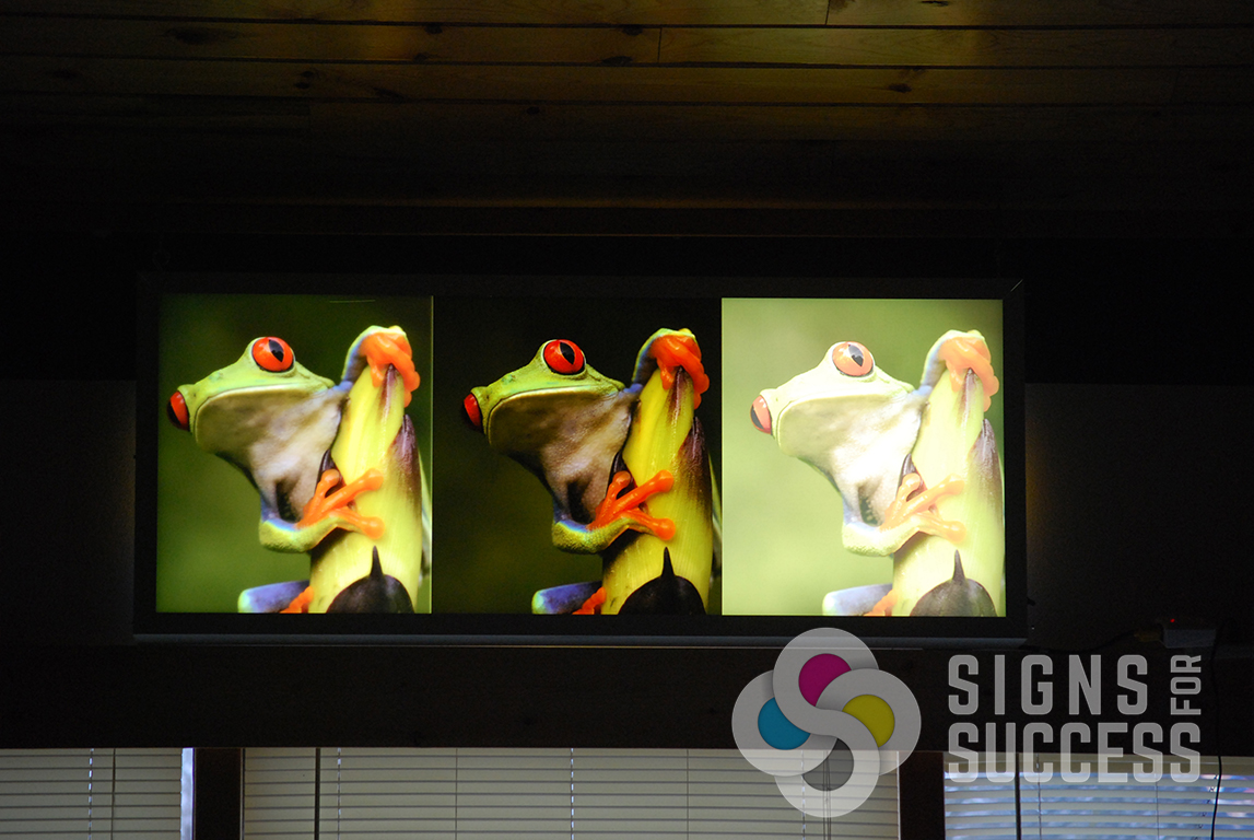 How To Get Perfect Backlit Signs Day And Night Signs For