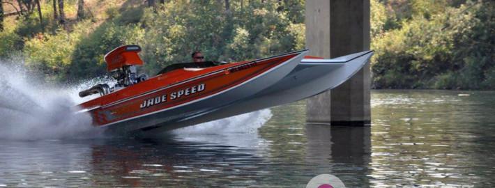 How fun is speeding down the lake or river in a custom design boat wrap in Spokane or Priest River