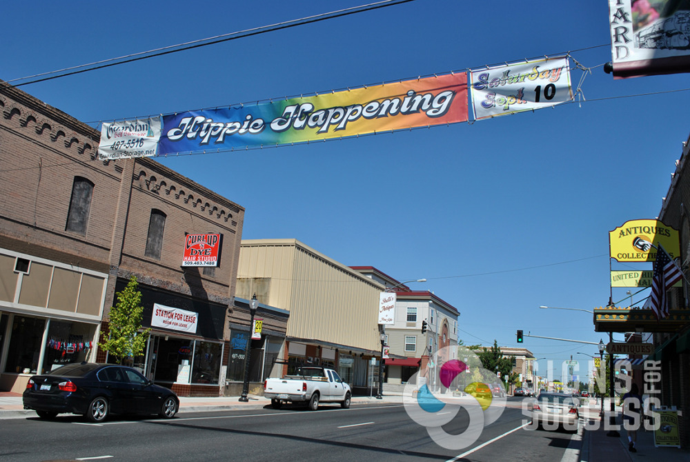 Street Banners Mesh Or Vinyl Signs For Success