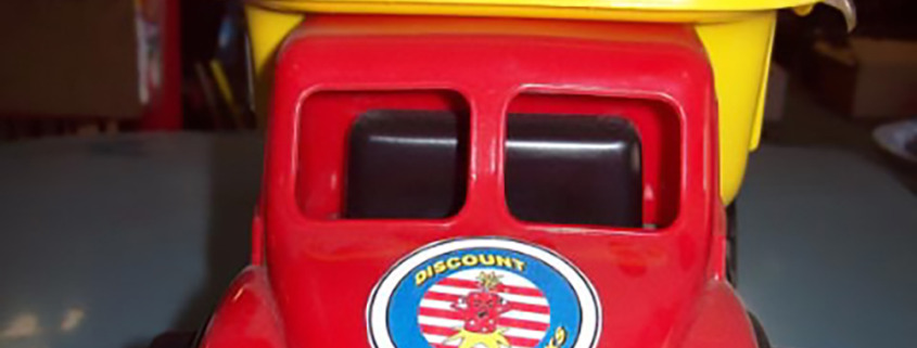 Discount fireworks needed a decal sticker to add to their plastic truck full of fireworks, so we printed and cut a high tac label for them, Oroville, Spokane