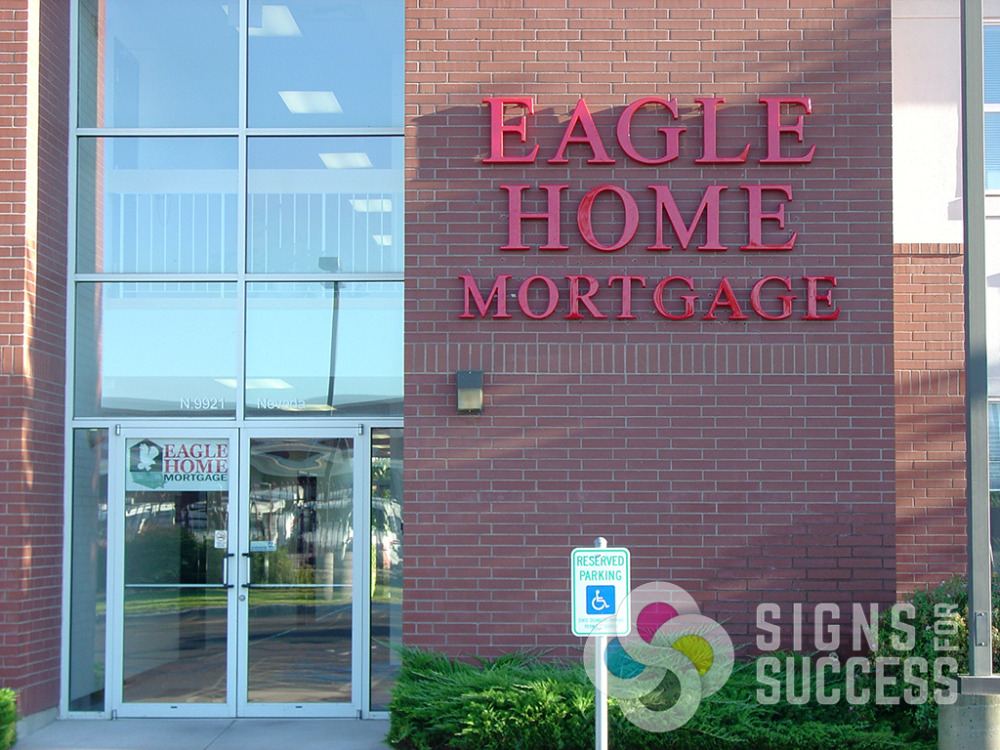 Formed Plastic Letters Signs For Success