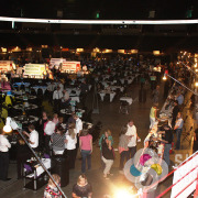 Auction signage and food vendor banners all the way around Spokane Arena done fast by Signs for Success