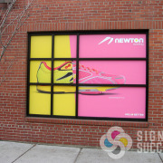 Cover your windows when you want privacy or to cover shelving and stock rooms, use the space for printed advertising, wrap windows, window graphics Spokane